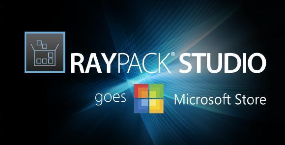 RayPack Studio goes Microsoft Store