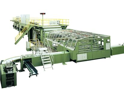 The E.C.H. Will 16 pocket cut-size sheeter is a part of the second cut-size line ordered by Portucel Soporcel Group.