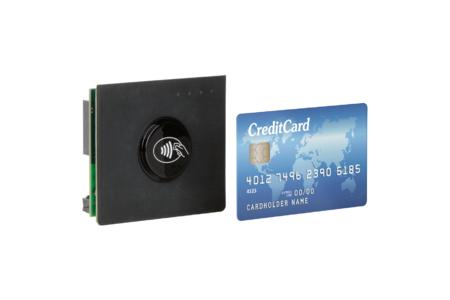Nicht viel größer als eine Kreditkarte - der cVEND von FEIG ELECTRONIC