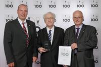 GSD bei der TOP100 Preisverleihung