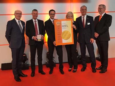 """LogiMAT: Swisslog überzeugt mit """"Condition Monitoring"""" und gewinnt den Preis """"Bestes Produkt 2017"""""""