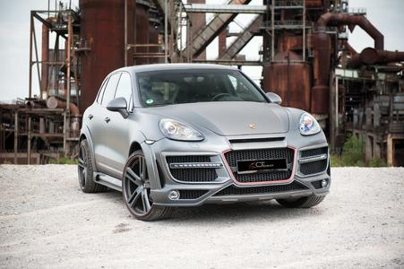 Widebody Kit for Porsche Cayenne 958 from CT Exclusive germany