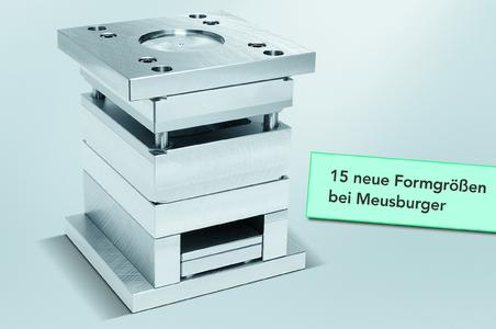 15 new mould sizes at Meusburger