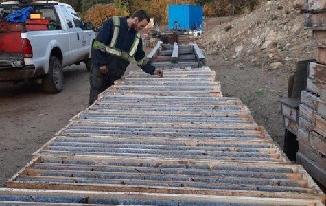 Bohrkerne von Carmacks; Foto: Granite Creek Copper