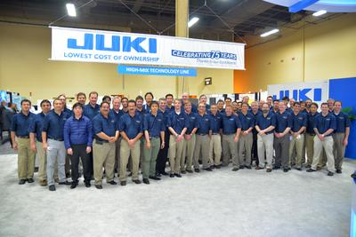 Juki's Complete Line Solutions Concept Peaks Interest at APEX