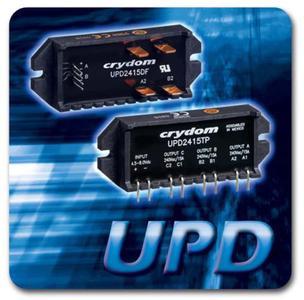 UPD-Serie: Kompakte Halbleiterrelais mit AC-ausgang