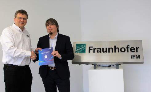 Stefan Hoppe, OPC Foundation, Uwe Pohlmann, Fraunhofer IEM