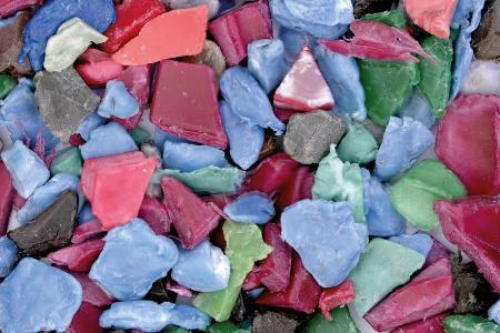 Granulat Recycling