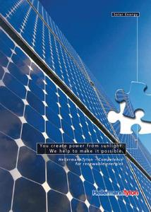 HellermannTyton: Competent Solutions for Solar Industry - Cover