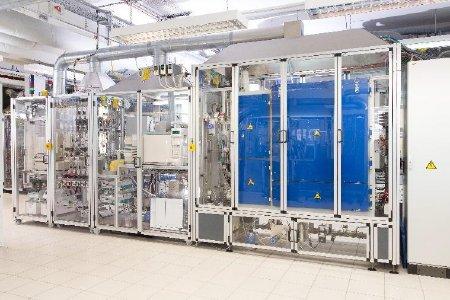 Figure 1: 16-fold high throughput test unit