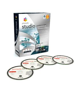 Pinnacle Studio 12 Ultimate Premium Edition Packshot