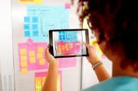 Mit der kostenlosen Post-it App lassen sich alle Notizen digital erfassen und mit Kollegen oder Mitstudierenden teilen, Foto: 3M