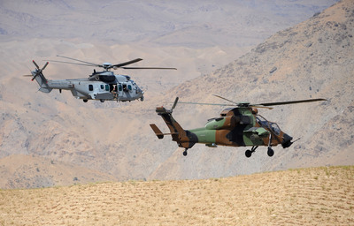 Tiger Helicopter: 1,000 Flight Hours in Operations in Afghanistan