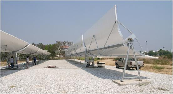 KTSE-9100 - First solar thermal power plant with direct steam generation (DSG) in Southeast Asia