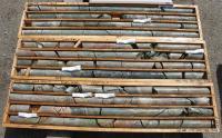 Bohrkerne vom Craigmont-Projekt; Foto: Nicola Mining Inc.