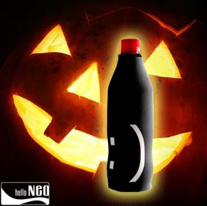 "hello NEO Limited Edition - Halloween Stubby Holder ""Black Smile"""
