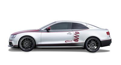 Eibach Audi S5 side studio