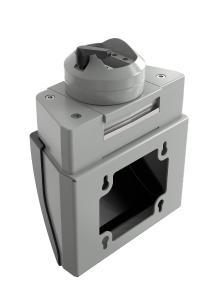 Über den neuen Flat Panel-Adapter von ROSE Systemtechnik können Steuergehäuse und Panel PC aller gängigen Hersteller an ein Geräteträgersystem angebunden werden Bild: ROSE Systemtechnik