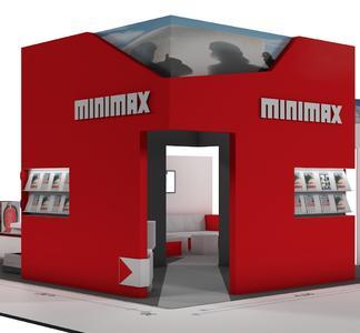 Ansicht Minimax Messestand