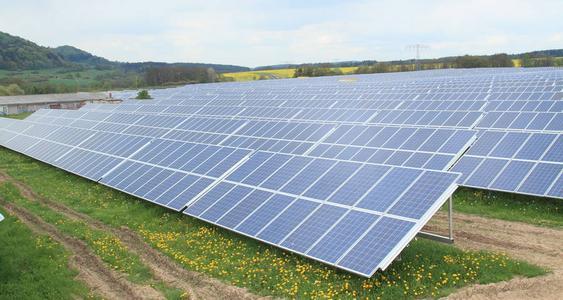 VISPIRON stellt Solarpark Gotha mit 1,5 MWp fertig. Bild: VISPIRON