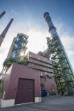 Seit 2017 sorgt diese –bereits zweite- Tuchfilteranlage auf dem Werkgelände von thyssenkrupp Steel im Duisburger Norden für saubere Luft. Bis 2020 soll eine dritte Anlage fertig gestellt werden.