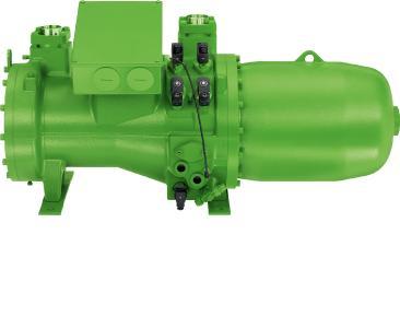 Der BITZER Kompaktschraubenverdichter CSH65 wird in vielen Bereichen der Kälte- und Klimatechnik eingesetzt / Foto: BITZER