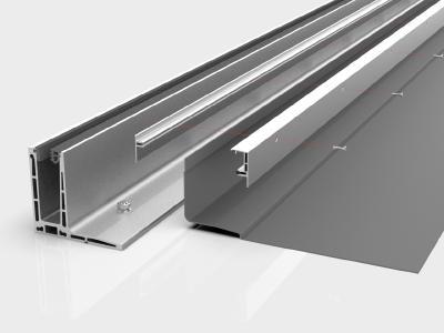 Sauber gelöst: Anschlussabdichtung mit zweiteiliger Profilschiene