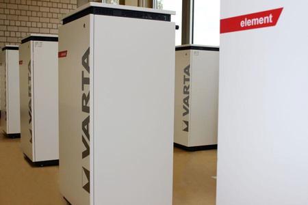 Batteriespeicher VARTA element in weiß (Foto: VARTA Storage GmbH)