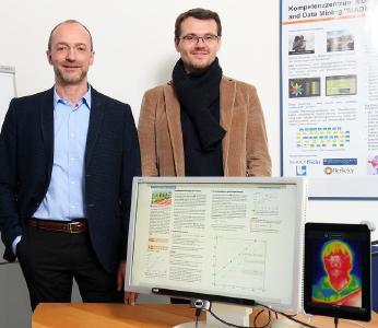 Professor Dr. Andres Dengel (links) und Professor Dr. Jochen Kuhn / Foto: Thomas Koziel