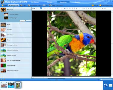 So muss Foto-Software...! Photo Explosion 5 Deluxe (Screenshot)