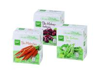 A plus for the environment: ALDI Süd puts  organic vegetables in combisafe from SIG Combibloc  on the supermarket shelf
