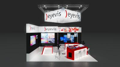 eyevis display solutions for TV set design at IBC 2017