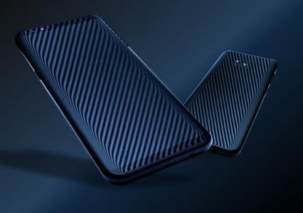 Deflektometrische Erfassung der Form und Welligkeit von Mobilgeräten (Vorder- und Rückseite)
