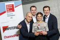 Preisverleihung vonGreat Place to Work®: Beste Arbeitgeber ITK 2019