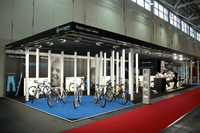Messestand ROBA BICYCLES