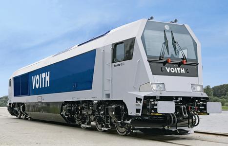 Dieselhydraulische sechsachsige Lokomotive Voith Maxima 40 CC