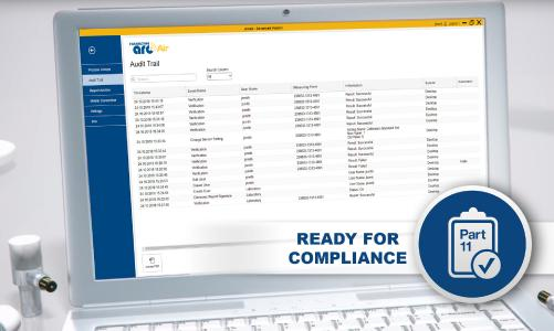 Hamilton App erfüllt Anforderungen der Part 11 Compliance von Annex und FDA 21 CFR
