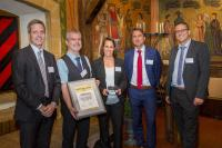 Innovation prize awarded to STW by BOMAG