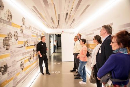 Am Tag der Logistik lädt Dematic alle Interessierten in ihr Imagination Center zu zwei interaktiven Führungen ein. (Foto: Dematic)