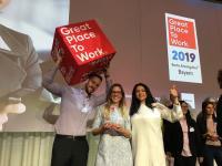 it-economics auf der Preisverleihungsgala von Great Place to Work© in München