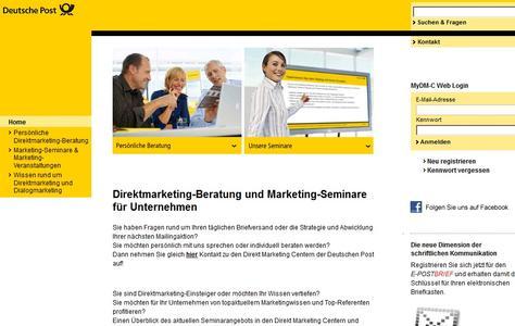 (Screenshot: direktmarketingcenter.de)