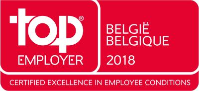 Kuehne + Nagel BeLux achieves Top Employers 2018 Certification