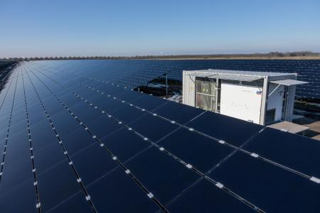 """BELECTRIC has built the PV plant """"Zonnepark Lange Runde"""" with around 14 MWp installed capacity as an EPC provider / Picture: BELECTRIC"""