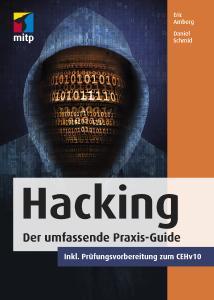 "Cover des Fachbuchs ""Hacking"""