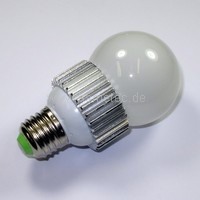 LED-Birne, E27, 5 Watt als Ersatz für 40 watt Glühbirnen