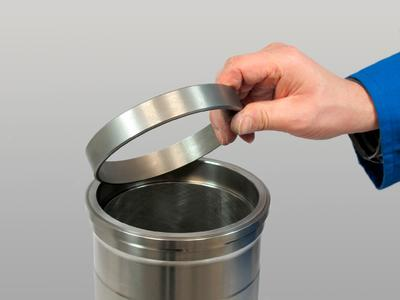 Cylinder sleeve with fire ring