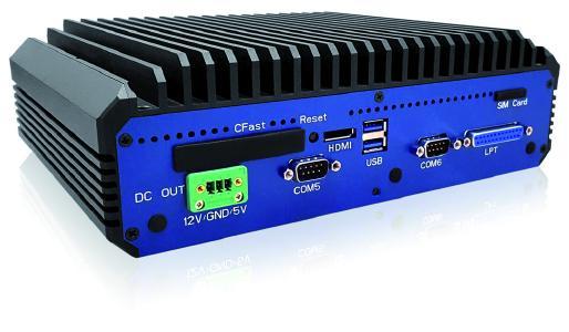 Die Industrie-PC-Serie EmbeddedLine EL1092 bietet stattliche Rechenleistung für industrielle Anwendungen im Dauereinsatz (24/7).