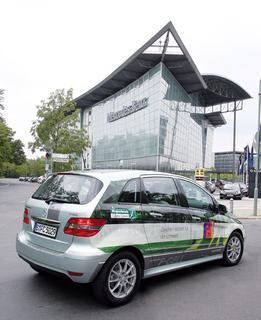Die Mercedes-Benz B-Klasse F-Cell ist jetzt auch bei Piepenbrock in Berlin emissionsfrei im Einsatz.