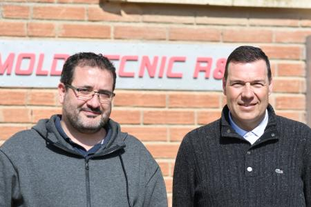 Working together since before the founding of Mold-Tecnic: Rubén Pleguezuelos (left) and Oscar Velilla (image: Rego-fix)