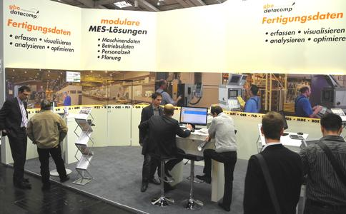 Messestand der gbo datacomp GmbH - Hannover Messe 2012 (Digital Factory)_2